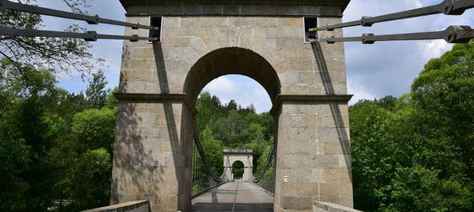 Stádlecký most, Bechyně a Židova strouha