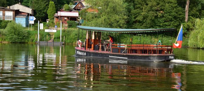 Prázdninová plavba po Berounce